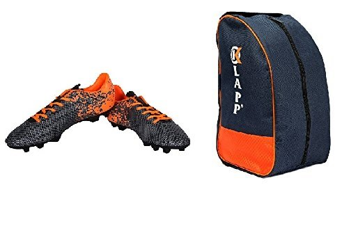 Nivia Carbonite Football Shoes With Shoe Bag; Football Shoes; Football Studs (8...