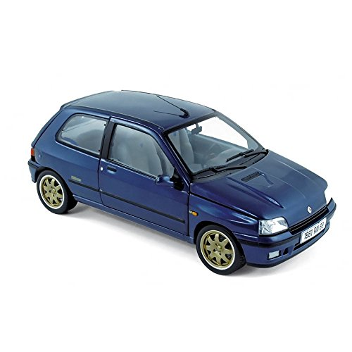 Norev NV185230 - Escala 1:18 'Renault Clio Williams 1993 Azul Modelo de Coche Fundido