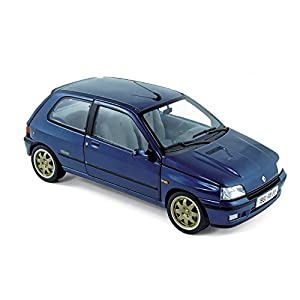 """Norev NV185230 - Escala 1:18 """"Renault Clio Williams 1993 Azul Modelo de Coche Fundido"""