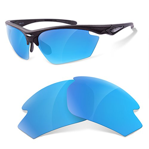 sunglasses restorer Kompatibel Ersatzgläser für Rudy Project Stratofly , Ice Blue Polarized