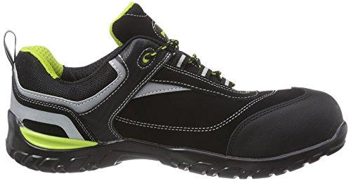 Gevavi Gs37 Hawk Wrks S1p Lg Unisex Scarpe Di Sicurezza Per Adulti Nero (nero (zwart) 00)