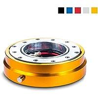 Snap Off volante chiusura rapida–Sport Volante Quick Release per Sparco, Momo, OMP Sport lenkraeder–Design Piatto