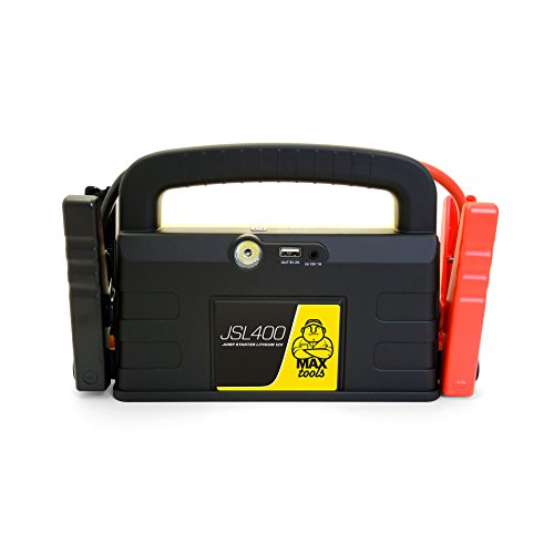 MAXTOOLS JSL400 Avviatore di emergenza al litio, 12 V, 800 A
