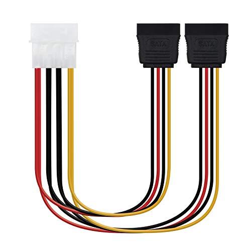 NANOCABLE 10.19.0101-OEM - Cable SATA alimentación