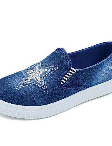 Zq Gyht Lingerie De Baixa Sapatos-outddor / Desportivo Azul Escuro-us6.5-7 Uk4.5-5 Eu37 Cn37 Tela-plateau-conforto-azul