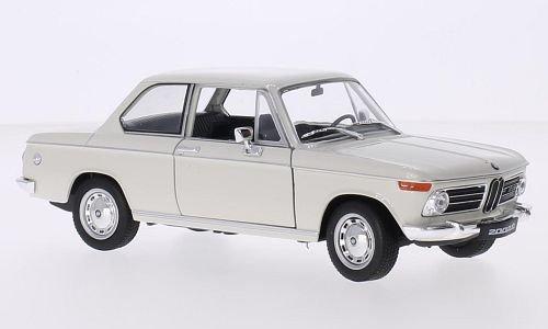 BMW 2002 ti, weiss, Modellauto, Fertigmodell, Welly 1:24 (Bmw Modellauto 2002)