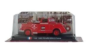 PS Laffly BSS C3 - 1950 diecast 1:50 fire truck model (Amercom SF-23)