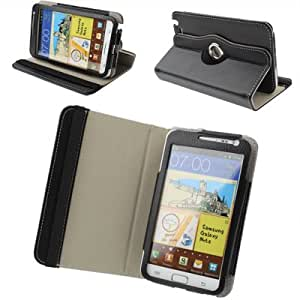 Housse cuir avec support pour Samsung Galaxy Note / i9220 / N7000