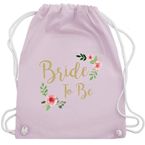 (JGA Junggesellinnenabschied - Bride To Be - Unisize - Pastell Rosa - WM110 - Turnbeutel & Gym Bag)