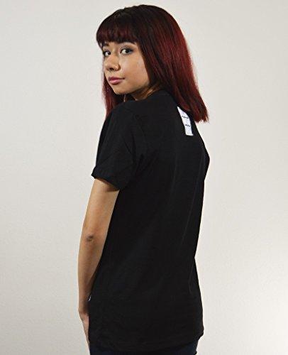 Akumu Ink Sick Nurse Hood T - Shirt Tattoo Zombie - Girlie Schwarz