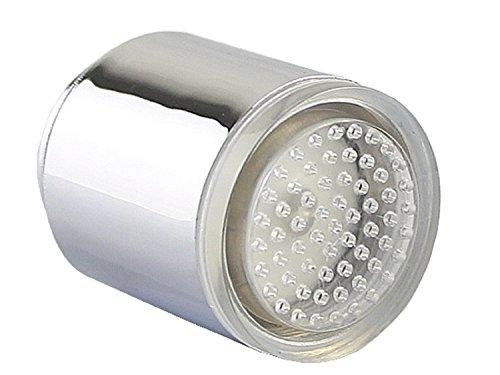 Katomi Wasser leuchten LED Wasserhahn Licht Temperaturfühler Küche Badezimmer Tap Dusche Sprühkopf RGB Farbwechsel -