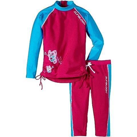 Zunblock - Completo di protezione dai raggi UVA, per bambini, Rosa (rosa), 86/92