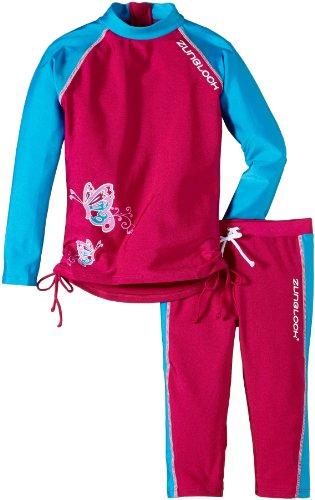Zunblock Mädchen UV Schutztop Set Suntop, Rosa, 86-92, 2520062