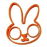 joyliveCY Frühstück Silikon Kaninchen Spiegelei kompatibel mitm Pfannkuchen Ring Shaper Kochen Werkzeuge Küchenhelfer Kind Geschenk