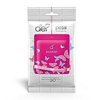 Godrej Aer Bathroom Fragrance Pocket - 10 g (Petal Crush Pink)