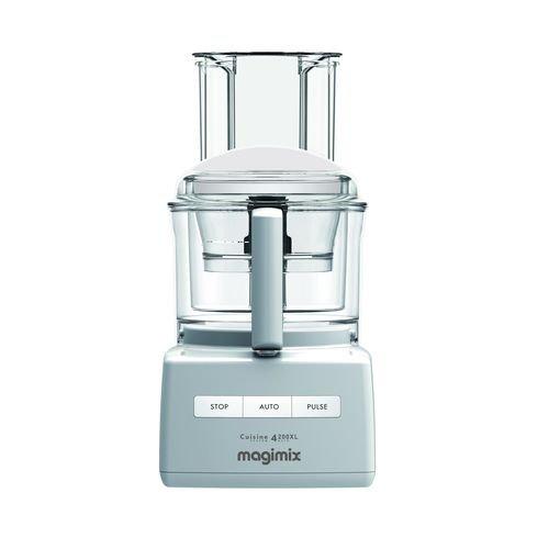 Magimix CS 4200 XL 950W 3L Negro, Plata, Transparente - Robot de cocina (3 L, Negro, Plata, Transparente, Botones, 1 m, 3 año(s), Acero inoxidable)