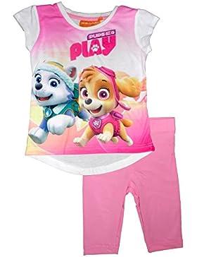 Nickelodeon Paw Patrol Mädchen T-Shirt Leggings Set