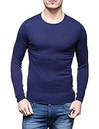 Armani Jeans - Pull 6x6mf4 - 6motz 1546 Blue