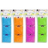 Bello Lot de 3 mini accumulateurs de froid Vert, orange ou bleu