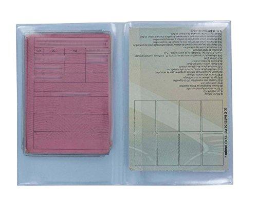 Preisvergleich Produktbild Set Schutzhülle transparent Schutz Führerschein Graukarte Set:-25