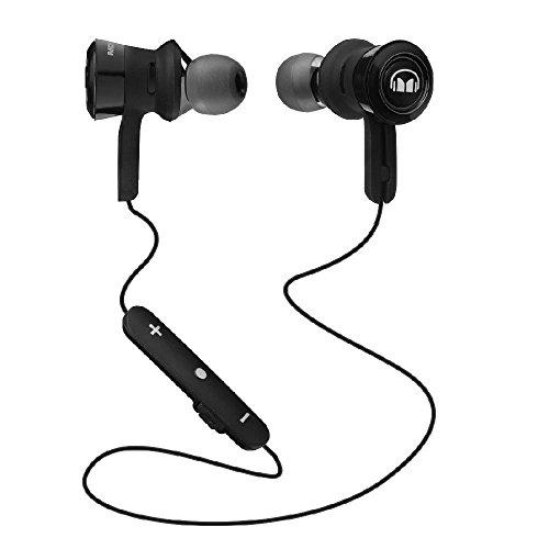 Monster Clarity HD Bügel Ear Kopfhörer Kabellos Bluetooth In-Ear-Kopfhörer Schwarz