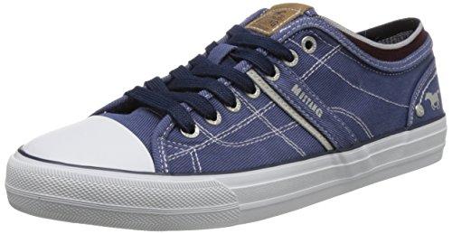 Mustang Herren 4127-303-800 Sneaker, Blau (Dunkelblau 800), 44 EU