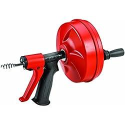 RIDGID57043 Déboucheur Power spin avec AUTOFEED, câble Maxcore avec tarière à bulbe pour supprimer les obstructions