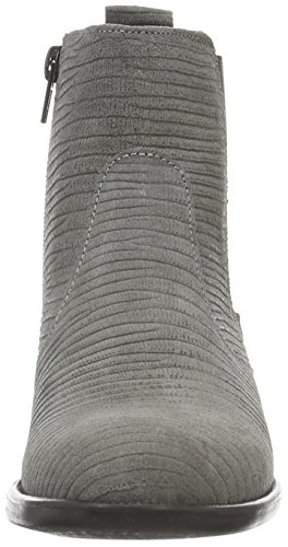 Tamaris Damen 25036 Chelsea Boots Grau (Grey Structure 259)