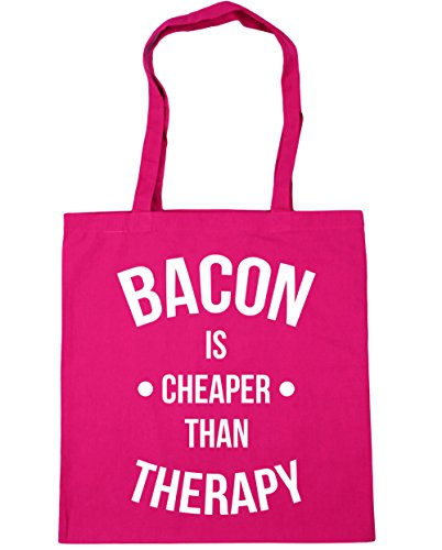 hippowarehouse-bacon-is-cheaper-than-therapy-tote-shopping-gym-beach-bag-42cm-x38cm-10-litres