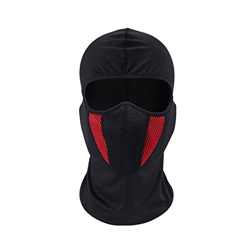 Windproof Face Mask, Cold Weather Ski Mask for Skiing Snowboarding Motorcycling Winter Sports Balaclava Hood,Motorcycle Ski Mask,Ultimate Thermal Retention in Outdoors