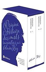 Dictionnaire Historique de la langue française - Nouvelle édition augmentée par Alain Rey de Alain Rey