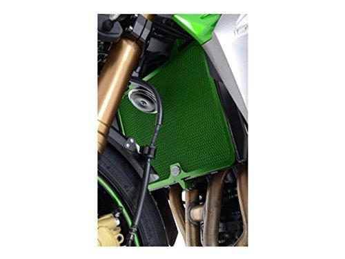 R&G Racing Kühlerschutz, Grün, für Kawasaki Z750 '07- gebraucht kaufen  Wird an jeden Ort in Deutschland