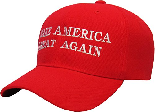 Rrend Make America Great Again - Donald Trump 2016 Campaign Cap Hat Adjustable,(004) Red