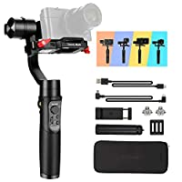 Hohem Digital Camera Gimbal Stabilizer Handheld Gimble for Sony RX100, for Canon PowerShot, for Panasonic Lumix, Action…