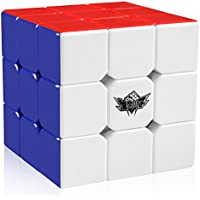 Cyclone Boys Magic Cube 3x3x3 Stickerless Speed Puzzle Cube (56mm)