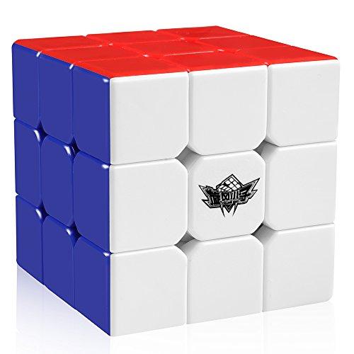 Cyclone Boys Magic Cube 3x3x3 Stickerless Speed Puzzle Cube(56mm)