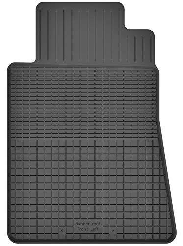 KO-RUBBERMAT 1 Stück Gummimatte Fußmatte Fahrer geeignet zur Mercedes SL R230 (Bj. 2001-2011) ideal angepasst (R230 Mercedes Fußmatten)