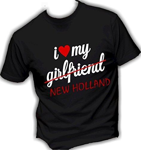 Social Crazy Herren T-Shirt schwarz schwarz L