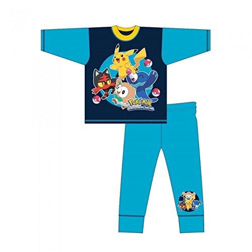 Pokemon-Pijama-infantil-de-manga-larga-de-Pokmon