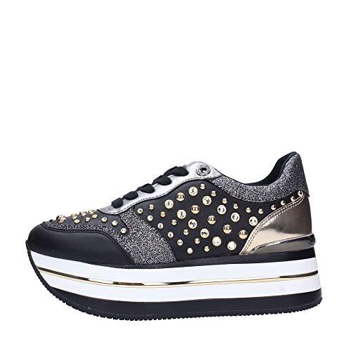 Guess FL5HAMELE12 Sneakers Frau Schwarz 39