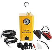 Detector de Fugas Máquina Prueba del Sistema Evap Coche, Probador Combustible Sistema Tuberías 12V Automotive con Adaptadores para Todos Los Vehículos