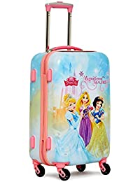 GAMME Disney Polycarbonate 55 cms Pink Hardsided Cabin Luggage(GD16RGT002)