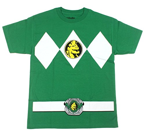 Mighty Morphin Power Rangers Green Ranger Mens T-Shirt