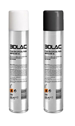 Price comparison product image 3D Lac (x2) Adhesive Anti-Warping Spray for 3D Printers 400ml can each (Pack of 2 cans)