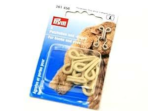 Prym Crochet pour fourrure et agrafes Beige (3)