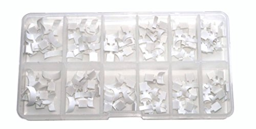 World of Nails-Design Mini French-White-Tips in Box 120 Stück -