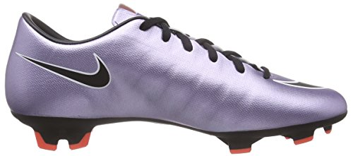 Nike Mercurial Victory V FG, Chaussures de Football Compétition Homme, UK Argent - Silber (Silber/schwarz)