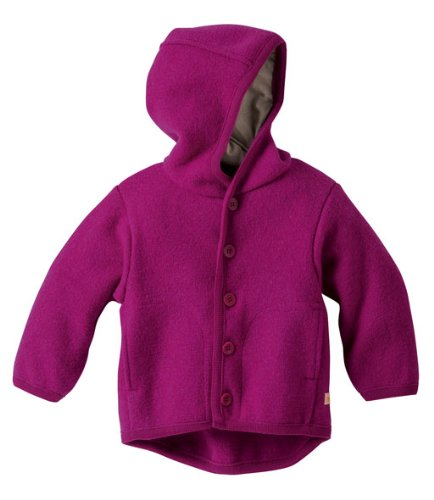 Disana Kinder Baby Walk-Jacke 100% Bio-Schurwolle