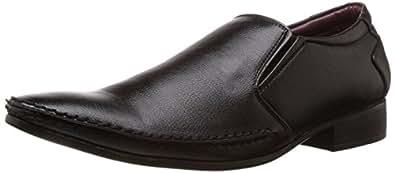 Bata Men's Weaved Slip Black Formal Shoes - 10 UK/India (44 EU) (8516090)