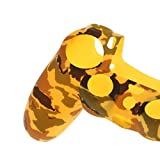 SLB Works Case Handle Grip Cover for Sony Playstation PS4 Controller Yellow